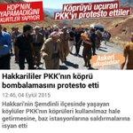 PKK'lı olmakla Kürt olmak arasndaki farkı bilen Kürt kardeşlerimiz PKKlı teröristlerin saldırılarını protesto etti. http://t.co/lpR8VTsbvf