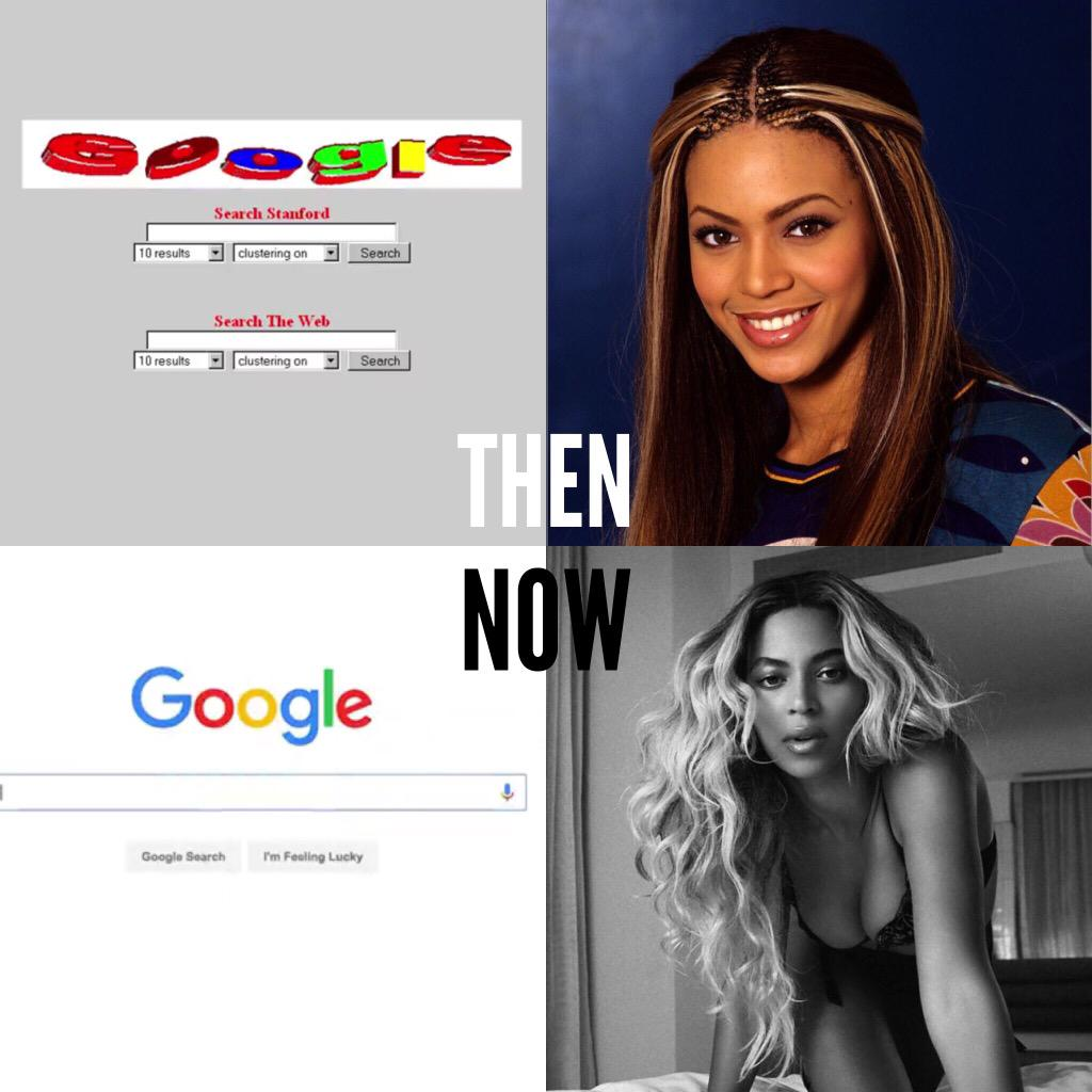 Boom. @google was founded today in 1998. It's also @Beyonce's bday. Feeling old yet? #GoogleLogo #BeyDay #1998 http://t.co/KffpjnF7lV
