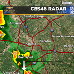 If youre north of I-20 in #Atlanta, the #rain has moved out for now. http://t.co/rK0BzoFsBX