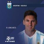 RT si creés que Lionel Messi fue la figura del 7-0 ante #Bolivia http://t.co/YJr8vvveR7 http://t.co/TI3uJt13Lz
