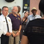 @CommishKDavis stands with @MayorSRB and members of the community during a prayer vigil in west Baltimore http://t.co/kGPbHksGsw