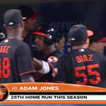 JONES! Adam Jones hits a two-run homer to center field! Os lead 10-2 in the eighth! #BirdFight http://t.co/mIjoWnOPR7