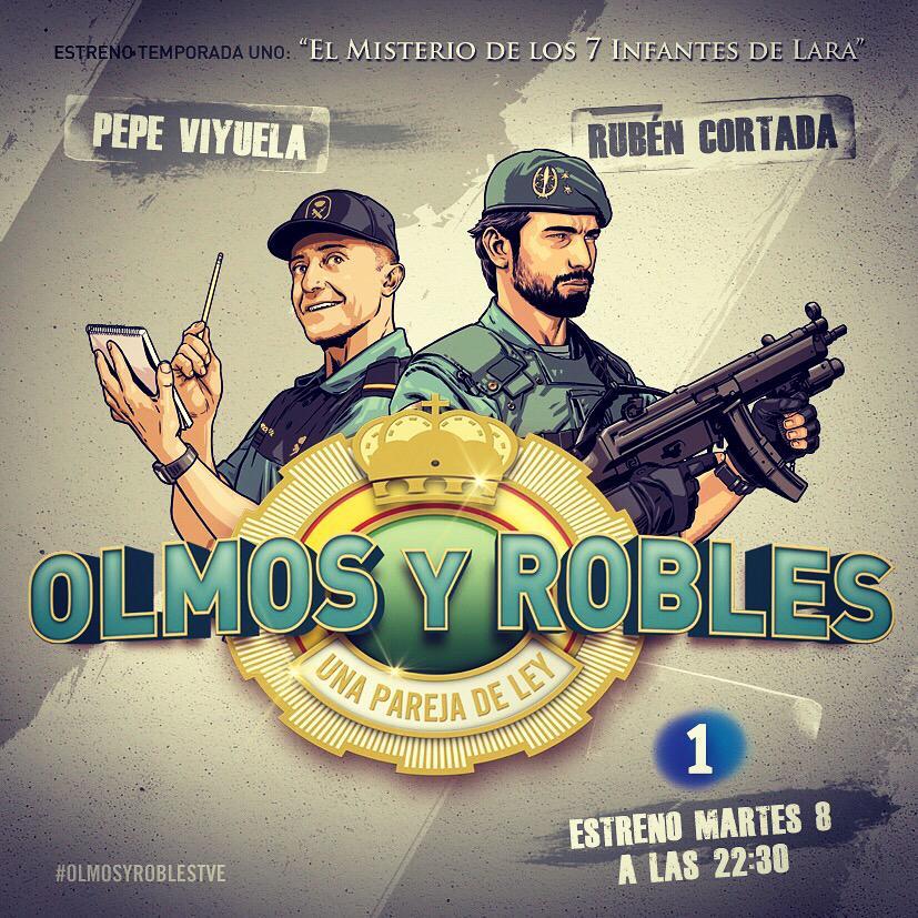 Hoy 22:30 estren @La1_tve @olmosyroblesTVE @PepeViyuelactor @RubenCortadaS #olmosyrobles @AlexODogherty @ana_morgade http://t.co/xOmIJv8CMr