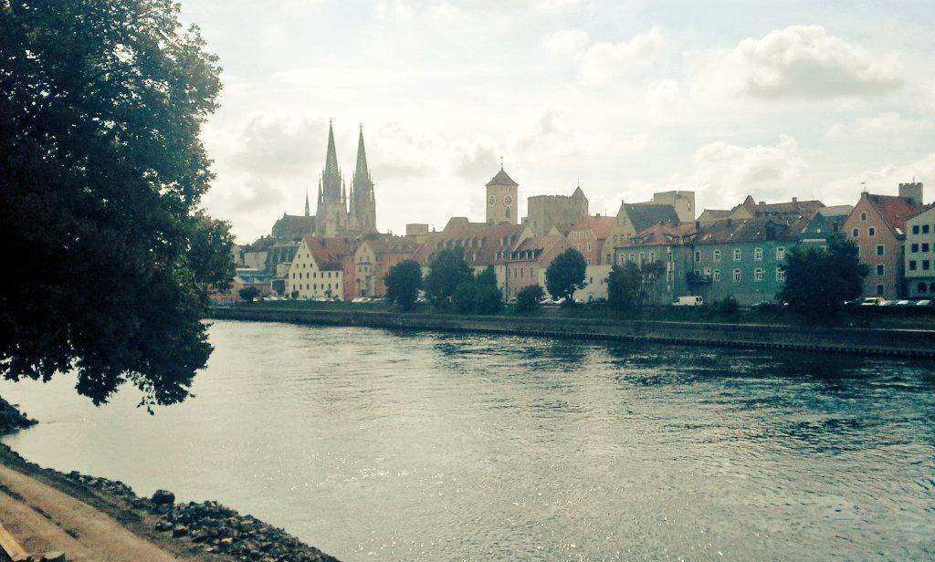Regensburg !! Le Rouen allemand. Sehr schön !