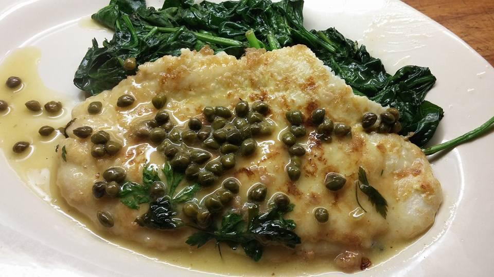 Filet of Sole with capers,lemon and white wine!! http://t.co/N0gyLCXmMP