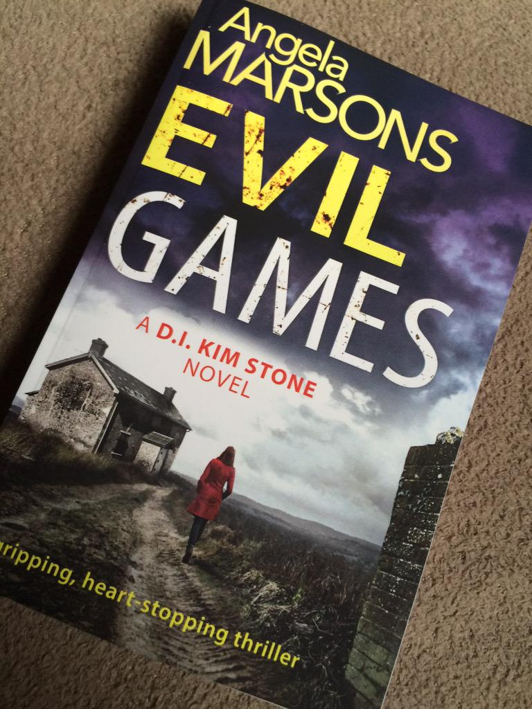 I'm about to read the 2nd book by @WriteAngie #EvilGames