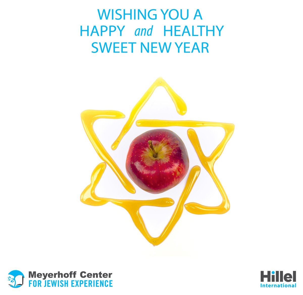 Happy and healthy sweet new year, everyone! #RoshHashanah