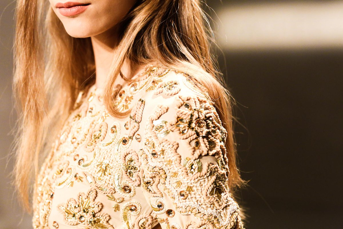 Embellishment didn't go unnoticed at @RachelZoe's Spring/Summer '16 collection. #NYFW http://t.co/Z0oPFB83Kj