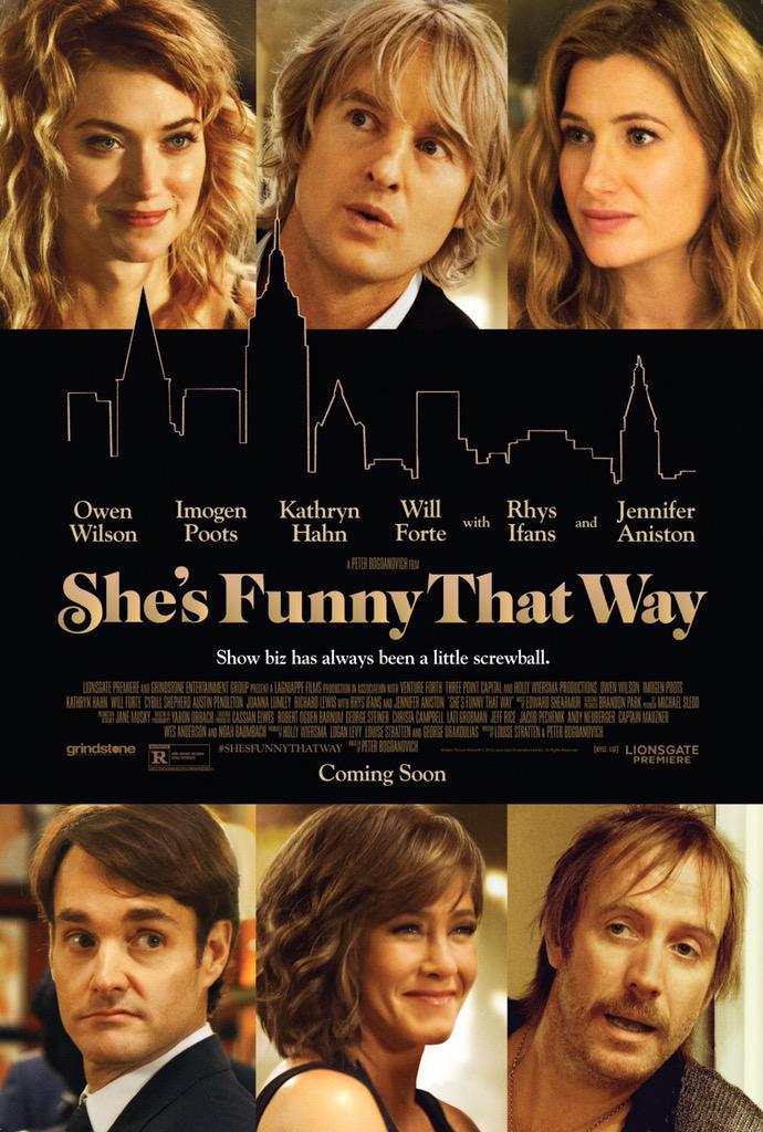 يتورط مخرج مسرحية في علاقة معقده مع إحدى فتيات الهوى بعد أن يجدها في مسرحه.  كوميدي للكبار 10/6.2  أفلام 2015 http://t.co/7hLVohKbog