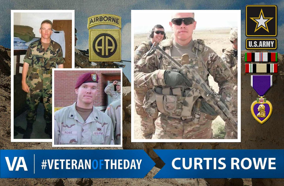 veteranoftheday curtis rowe usarmy 82nd airborne 2003 2013