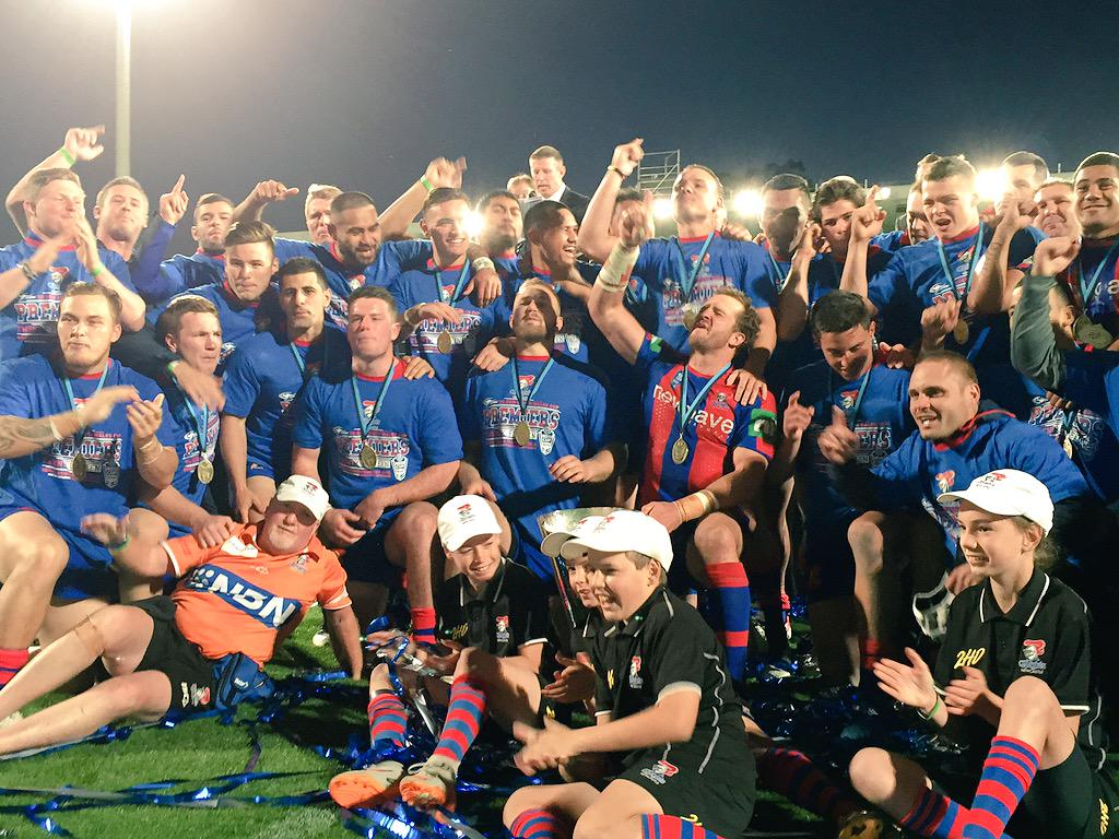 The 2015 NSW Cup premiers! #goKnights #NSWCup http://t.co/fGm4XA3HIB