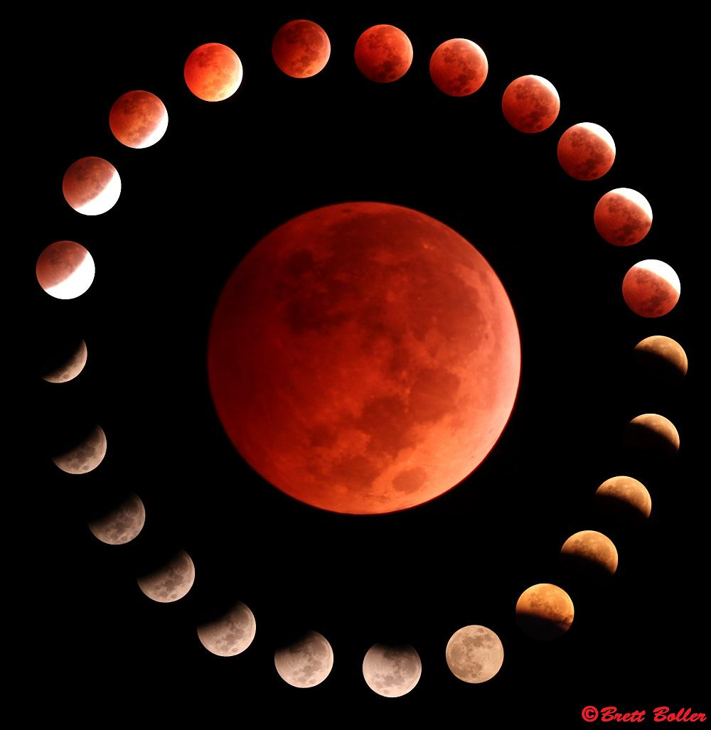 Lunar eclipse tonight! http://t.co/h9ZTHLtdMw (Photo: Brett Boller) http://t.co/j8NymuMd6F