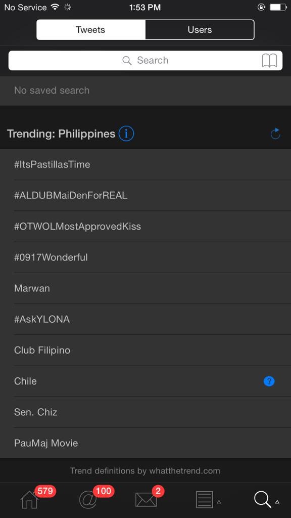 First spot Nationwide and Second spot Worldwide   #ItsPastillasTime @itshowtimena http://t.co/bQUcu6PGBE