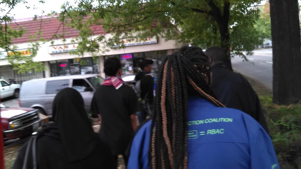 Walking to Genesee Park for the Walk Away Day event! http://t.co/dYU825OdcK