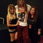 RT @ticketqueen73: @sebastianbach Was awesome meeting you and your gorgeous wife last night. Rock on!