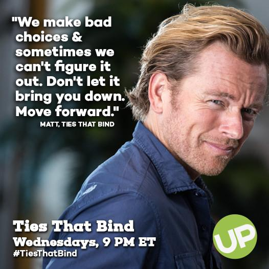 Make a good choice and tune in to an all-new #TiesThatBind tonight at 9 PM. http://t.co/uREAtdg9ye