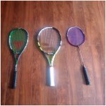 Am ready with my racquets. When's the next game. @P9Ashwini @joshnachinappa #TryItAll #LoveForSport