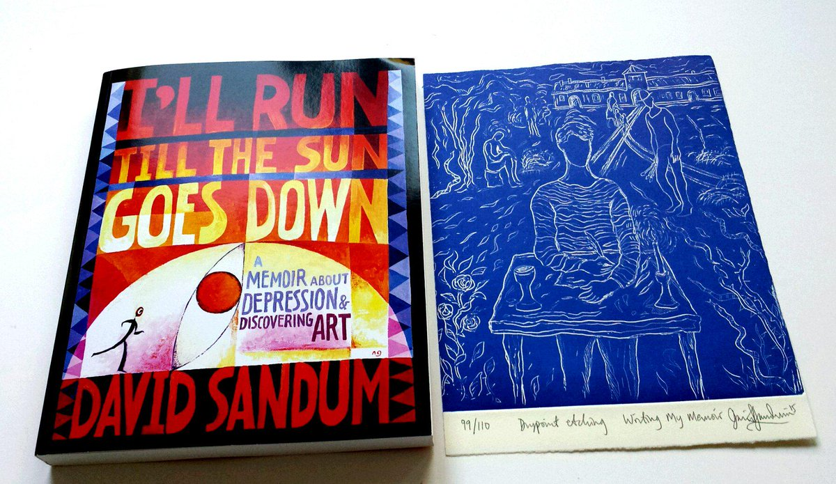 @DavidSandum @SJonasBooks  Honored to receive a signed copy of his book and signed print by such an amazing artist! http://t.co/UQCsCLLGt1