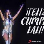 #FelizCumpleañosLali Te deseamos un día lleno de música y alegría ! @laliespos @LaliMusica ????❤️ http://t.co/dVetGi7LJz
