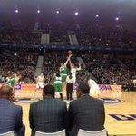 27 años después se repite un salto inicial para la historia. #NBAMadrid http://t.co/WZR57En2v3