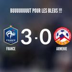 ????????FRANCE 3️⃣-0️⃣ ARMENIE BUUUUUUUUUUUR DE BENZEMA !!! Les Bleus déroulent ! #CôtéFoot #FRAARM http://t.co/A5wSnANljJ