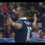 3-0 POUR LES BLEUS ! Après un an, Karim Benzema marque de nouveau ! #FRAARM http://t.co/TU7tB5qJ25