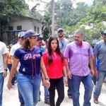 #ConMaduroGobiernaElPueblo @ramolinap @CarylBertho @Andreina_PSUV recorrieron Pueblo de Choroní http://t.co/AOGHXHu4B8