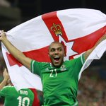 """Northern Ireland reaching Euro 2016 is """"a triumph for teamwork, perseverance & belief"""" http://t.co/d4OGbrGkSe http://t.co/31AS57wpmV"""