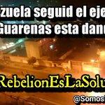 Venezuela seguid el ejemplo que Guarenas esta dando. El país unido y salimos de este régimen #LarebelionEsLaSolucion http://t.co/vR7NcRHoKI