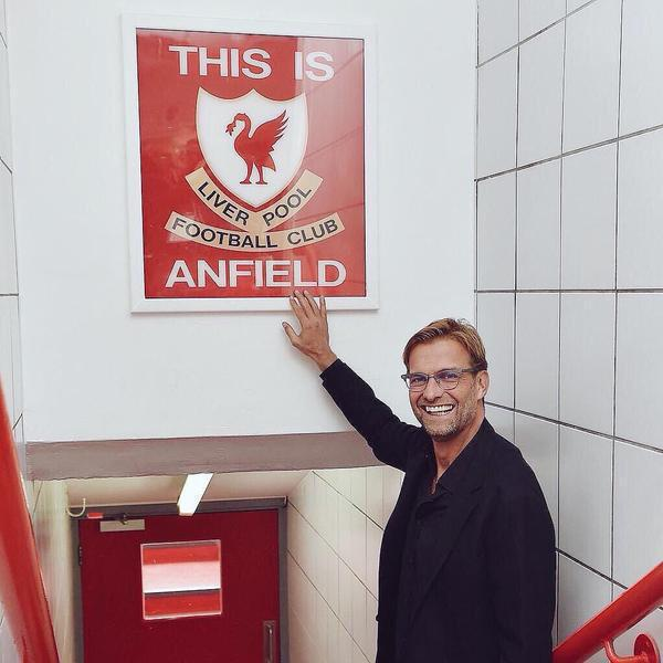 Welcome to the Liverpool family. YNWA Mr. Klopp!! http://t.co/TkWcVHU3ye