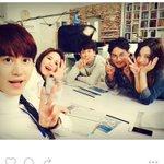 zeroyongyong Instagram update with #KYUHYUN with staffs from BongSoon webdrama #슈퍼주니어 #규현 http://t.co/qzshBt5ERe