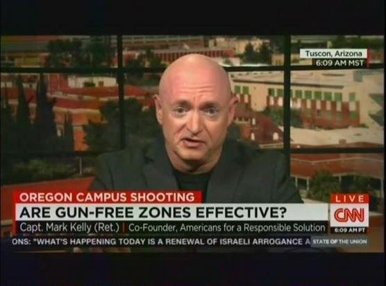 """@mmfa: Watch Mark Kelly expertly debunk the myth that ""gun-free zones"" attract shooters: http://t.co/vpDk3tEPW2 http://t.co/AQS0lwhINW"