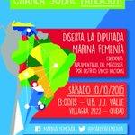Mañana, todxs invitados! En UB JJ Valle de Capital a las 13 hs #Mendoza #Parlasur #LaVictoriaDeLaIntegracion http://t.co/hBUvQOnMN1