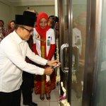 Peresmian Instalasi Gawat Darurat, kamar operasi dan ruang rawat inap RS Nahdlatul Ulama Banyuwangi. Smg berkah. http://t.co/VYNblRFPH1