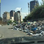 Make your way through #garbage this is our new slogan in The #Lebanon #ilovelebanonbecause http://t.co/zZZfU3f4Fj