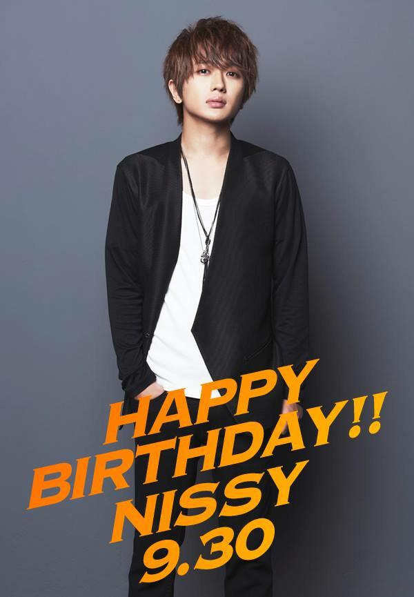 HBD! Nissy 9.30  #お祝いする人はRT http://t.co/3MOFX7ArGe