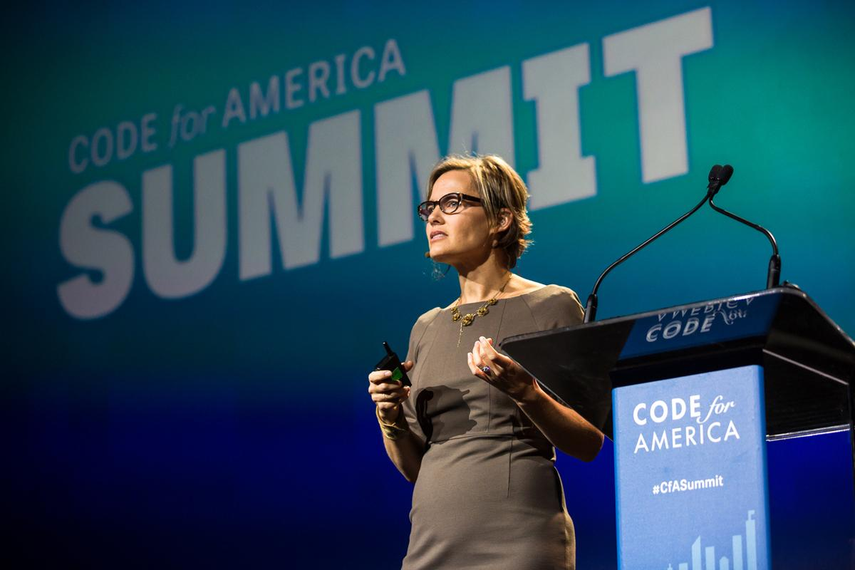 """Starting w/ users isn't just how we shld be making tech, it's how we shld be making govt"" - @pahlkadot at #cfasummit http://t.co/OtwVJGREKO"