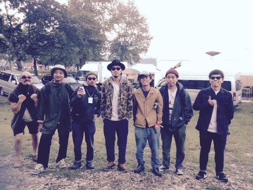 初めてメンバー全員揃いました! #ACIDMAN #yaseicollective http://t.co/Fmfek9DEon