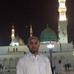 Felling blessed, full of blessing and in peace at Madina Sharif right opposite Nabi Pakks pbuh Roza Shariff. http://t.co/JUCkMiFUzv