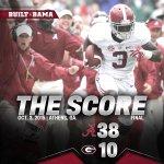 @AlabamaFTBL wins at Georgia, 38-10 #BAMAvsUGA #RollTide #BuiltByBama http://t.co/vGy9hZvCXa
