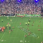 Broncos cant believe the result.... All of them on the ground. #NRLGrandFinal http://t.co/1YTi52snvP