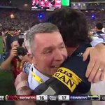 .@yvonnesampson chats to Johnathan Thurston after their 2015 #NRLGF WIN! #WWOS http://t.co/876hBulgGN