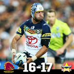 The @nthqldcowboys superstar boots them into the history books! #NRLGF http://t.co/cLBx67a7oo