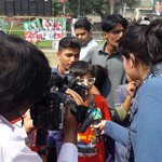 Families out to show support to PTI. ( Pic credit @NidoPTI ) #چلو_چلو_ڈونگی_گراونڈ_چلو http://t.co/hHENiqS7Ku