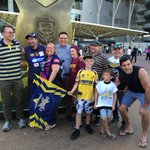 Sydney has been over run with Queenslanders for the NRL GF #NRLBroncosCowboys http://t.co/PduKeRYji6