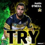 The @nthqldcowboys answer back! @Juz_e gets over. #NRLGF http://t.co/ZB3zZZxqxm