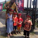 #لاہور_کا_شیر_عمران_خان Kids are ready to welcome @ImranKhanPTI at Dungi Ground, Lahore. http://t.co/et2EtIEpCS