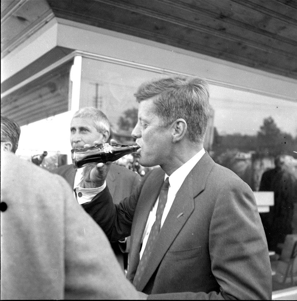 Did you know John F. Kennedy brought his presidential campaign to Carbondale and spoke at McAndrew Stadium in 1960? http://t.co/qmrG7rthNC