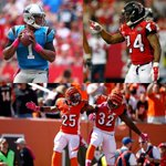 The first NFL teams to 4-0 records are: - Panthers - Falcons - Bengals http://t.co/9XtI305orj