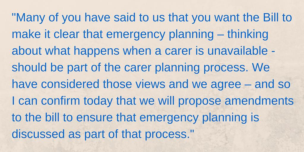 Quote from the First Minister @NicolaSturgeon on the #CarersBill. Great news! More: http://t.co/ZzcmtM8Pr0 @scotgov http://t.co/ccolayW7Iz
